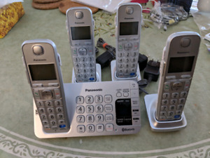 Panoramic home phone system 5 phones