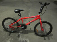 "VELOCROSS BMX ROUES 20"" BIADE LEAP ROUGE"