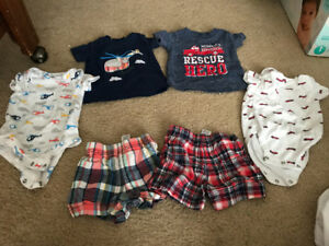 3-6 month clothing baby boy lot