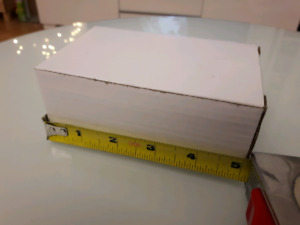 "★White Cardboard Box 5"" X 3"" X 2"" Flip Top★Only .10 cents each!!"