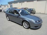 2009 Saab 9-3 1.9Tid 150bhp Vector Sport Estate Finance Available
