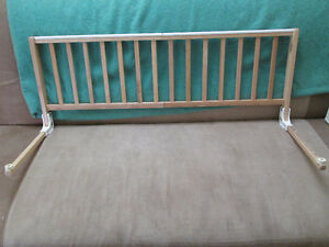 Evenflo wooden bed rail