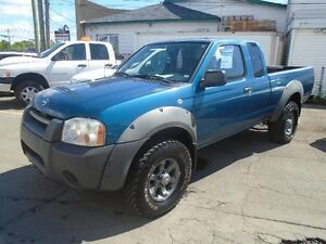 Nissan Frontier 4WD King Cab V6 2002