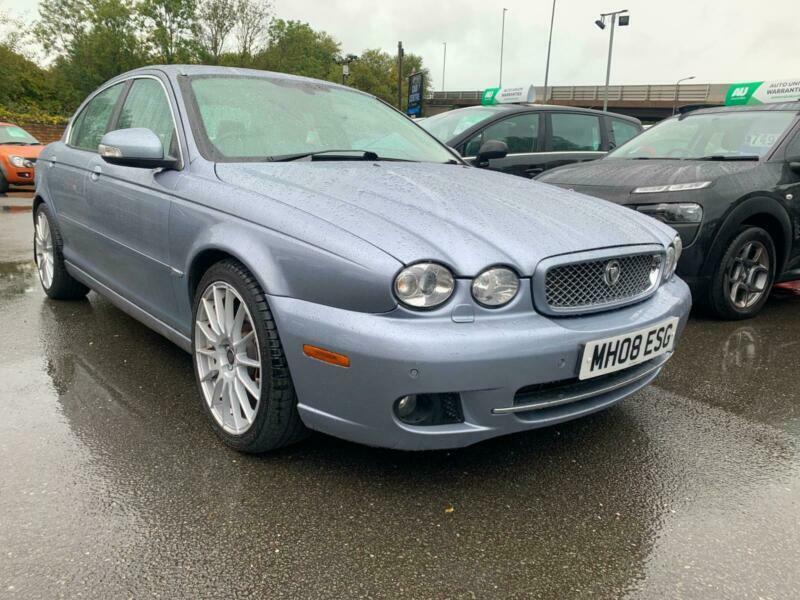 2008 Jaguar X-Type 2.2d SE 2009 4dr Auto DPF SALOON Diesel ...