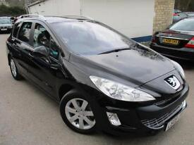 2009 PEUGEOT 308 SW SE HDI ESTATE 7 SEATER LEATHER ESTATE DIESEL