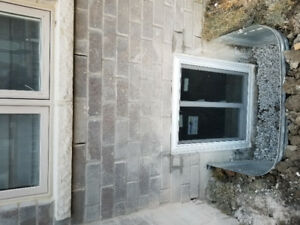 enlarge Windows , doors cuting and installation