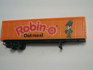 HO scale Robin-O Oatmeal trailer for electric model trains