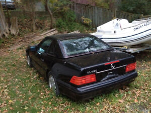 Hard top for 1996 Mercedes sl 500