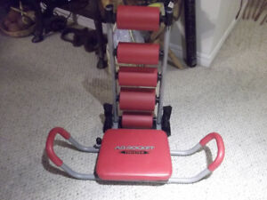 Exercise Equipment for Sale- Ab Rocket, Stepper, Ab King, Chair
