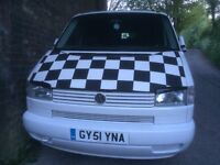 VW T4 Camper 2001 1.9TD with awning full mot low mileage