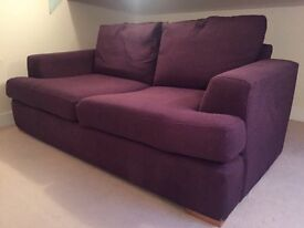 Purple sofa bed **NEED GONE ASAP**