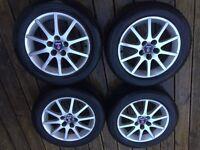Saab / Vauxhall alloy wheelset