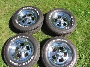 Cragar SS rims and tires