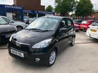 2009 '59' Hyundai i10 1.2 5 DOOR! BLACK! AIR CON! (76bhp) Comfort