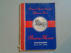 horse magazine from the early 50's