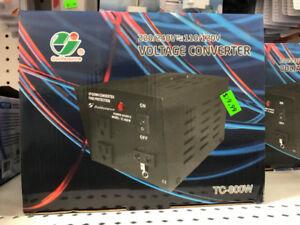 VOLTAGE TRANSFORMER CONVERTER 110-220 /220 V -110 800 WATTS