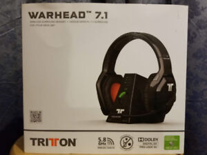 Tritton Warhead Wireless 7.1 Surround Sound Headset