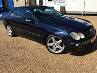 2004 '54' Mercedes Benz CLK 320 Avantgarde. 3.2 Petrol. Auto. Prestige. Px Swap