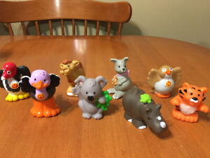 Fisher price little people zoo people lot #1