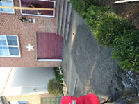 Concrete driveways steps and walkways