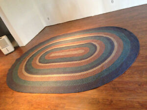 Oval braided rugs Stratford Kitchener Area image 2
