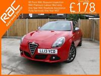 2013 Alfa Romeo Giulietta 1.4 Turbo 120 BHP Collezione 5 Door 6 Speed Bluetooth