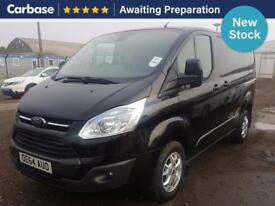 2014 FORD TRANSIT CUSTOM 2.2 TDCi 155ps Low Roof Limited Van