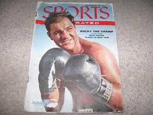 Sports Illustrated 1959 Rocky Marciano Issue + bonus UFC dvd