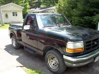CLASSIC  1992 ford f150 flareside