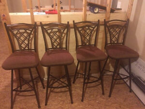 4 bar stools (all 4 for $65)