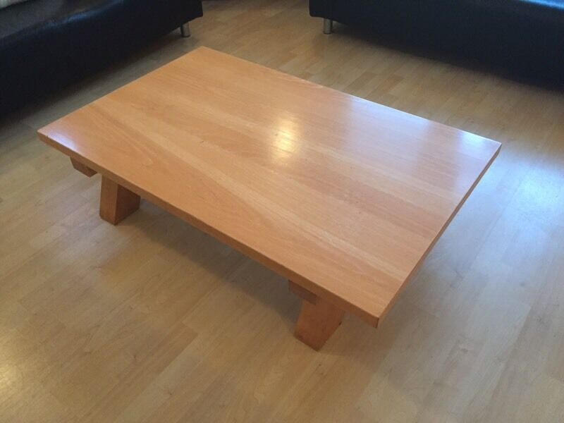 Beech Coffee Table Habitat In Falkirk Gumtree