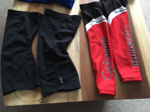 New Cycle smith arm and leg warmers