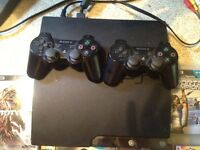 PS3 COMPLETE SYSTEM VARIOUS EXTRAS USED MABEY 10 TIMES