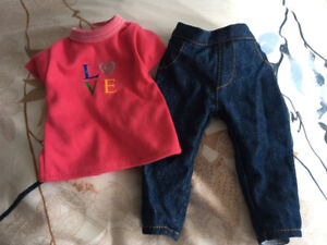 """Newberry 18"""" doll outfit"""