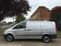 2013 63 MERCEDES-BENZ VITO 2.1 113CDI LWB BLUEEFFICIENCY 136BHP. AIRCON. ONLY 60