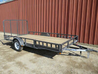 UTILITY TRAILERS ( $795.00 - $3,650.00 )