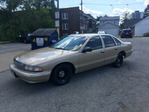 1996 caprice New price$2450 or best offer comes with a parts car