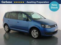 2014 VOLKSWAGEN TOURAN 2.0 TDI BlueMotion Tech SE 5dr MPV 7 Seats