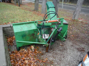 7' Tractor mount snow blower