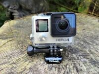GoPro Hero 4 /accessories and 64GB memory card