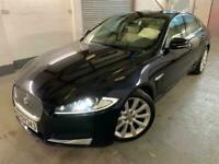 2011 Jaguar XF LHD Left Hand Drive 2.2d Portfolio 4dr Auto Saloon Diesel Automat