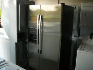 Excellent Used Stainless Steel Fridge
