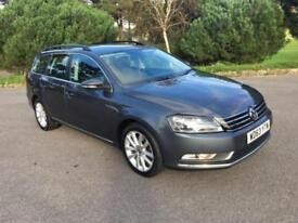 2014 63 VOLKSWAGEN PASSAT 2.0 EXECUTIVE TDI BLUEMOTION TECHNOLOGY 5D 139 BHP DIE