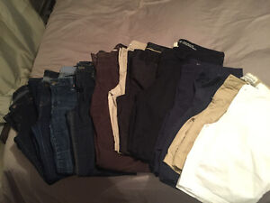 Women's jeans, khakis and shorts