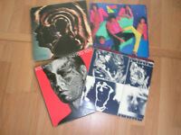 Records, Rolling Stones. 12 inch LP Collection. (4)