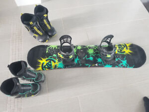 K2 Junior Snowboard with bindings and boots!!!