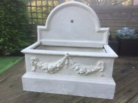 Trough for water feature