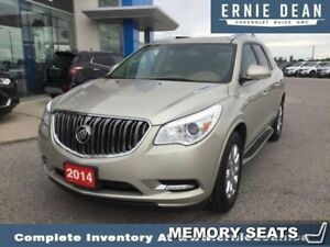 "2014 Buick Enclave Leather  LEATHER - NAVIGATION - 19"" WHEELS"