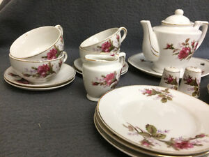 Collectible Antique Small Tea Cup Setting For 6 London Ontario image 2