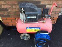 50l air compressor and hose